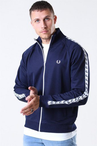 Taped Track Jacke Carbon Blue