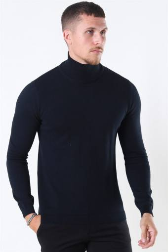 Luno Rollneck Stricken Black