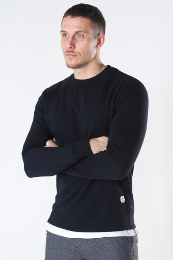 Basic Sweat Crew Neck Black