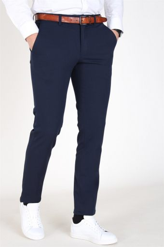 Slim-Carlo Flex Pants Navy Blazer