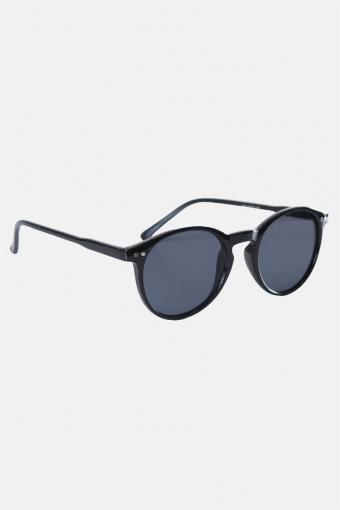 Fashion 1381 Panto Black Sonnenbrille Grey Lens