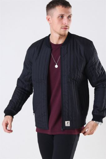 Lumber Recycle Jacke Black