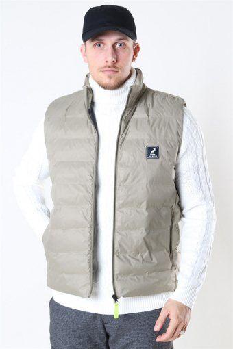 Duncan Recycled Vest Khaki