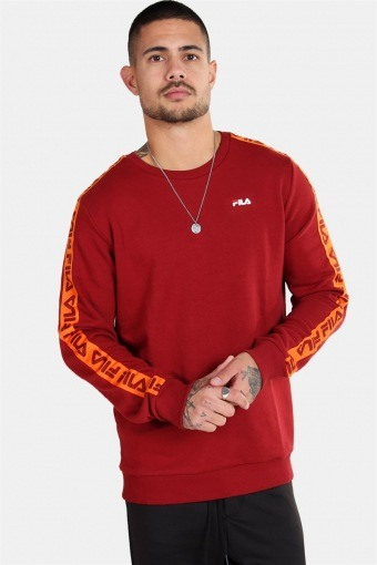 MEN Aren Crew Sweatshirts Merlot