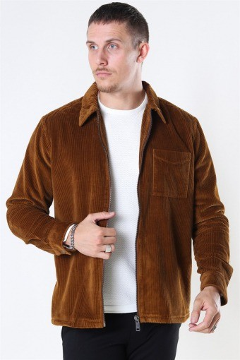 Braiden Zip Overshirt Monks Robe