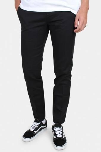 Work Pants Slim Fit Black