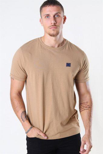 Clean Cut Basic Organic T-shirt Warm Sand