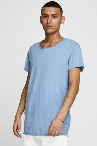 JJEBAS TEE SS U-NECK NOOS Blue Heaven REG FIT