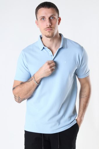 Silkeborg Stretch Polo Light Blue