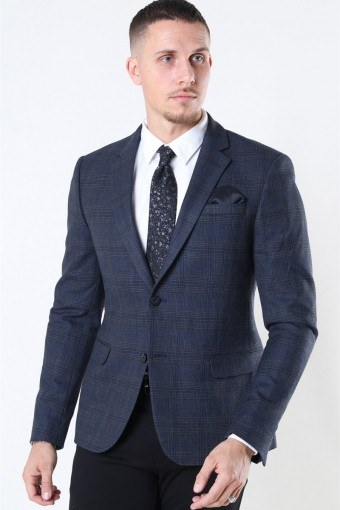Tailored & Originals Ragn Blazer Dark Grey Melange