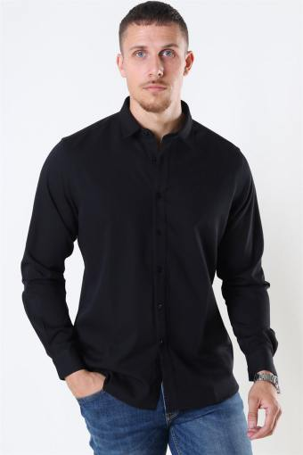 Clean Cut Maxime Hemd L/S Black
