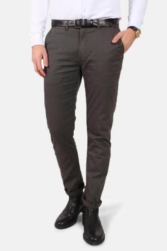 Daniel Stretch Chino Hose Stone Grey