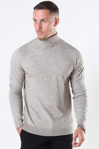 Mikkel 12 Soft High Neck Stricken Noos Pelican