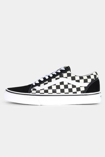 Old Schuhol Primary Check Sneakers Black/White