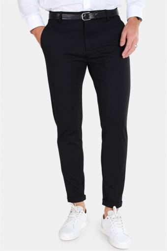 Clean Cut Prato Jersey Pants Black