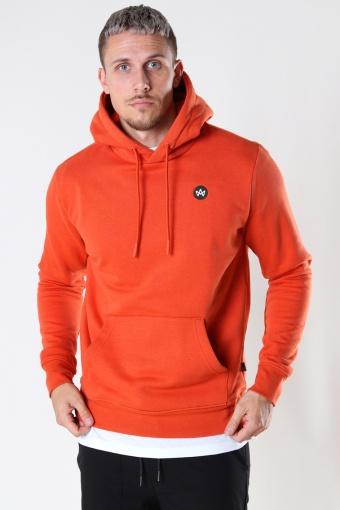 Lars Organic/Recycled hood sweat Burned Orange