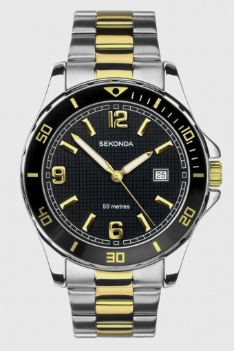 1581 Two-Tone Sports Uhr