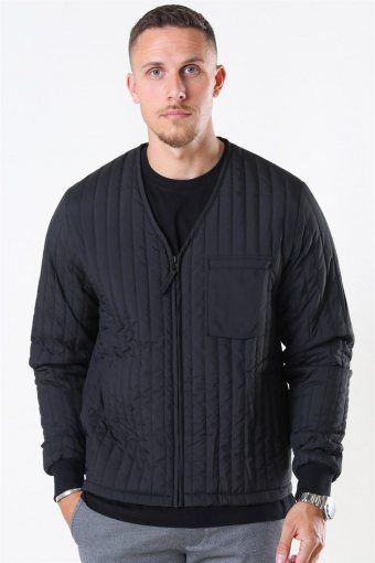 Liner Jacke Black