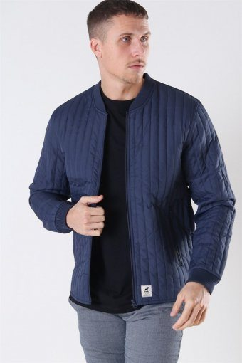 Lumber Recycle Jacke Navy