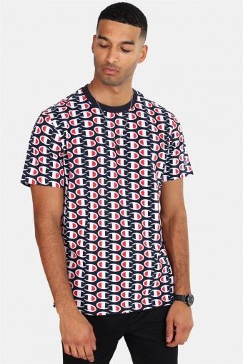 Crewneck T-shirt NNY/Allover