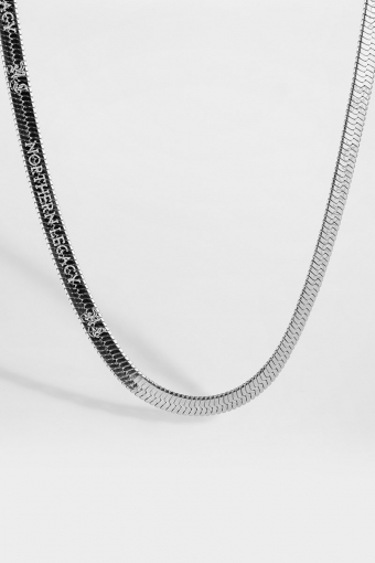 Herringbone Halskette Silver