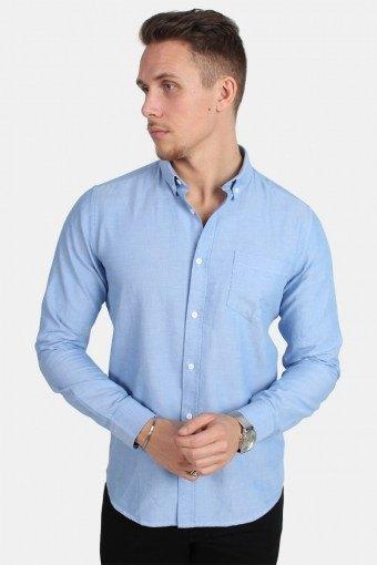 Alvaro LS Hemd Cashmere Blue