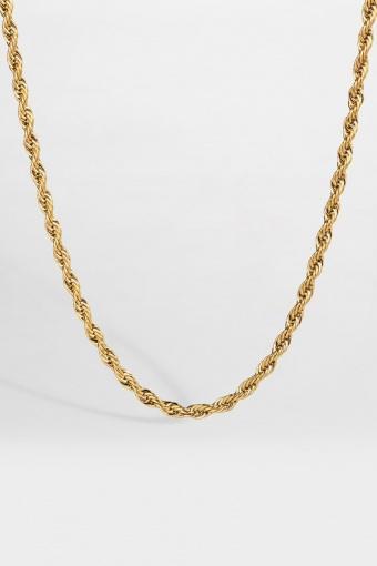 Rope Halskette Guld