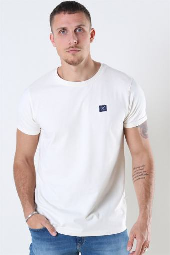 Clean Cut Basic Organic T-shirt Ecru