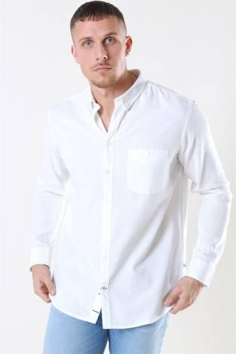 Johan Linen Hemd White