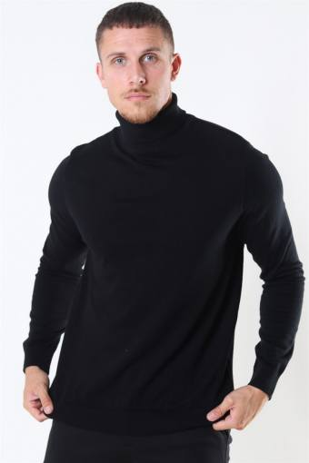 Berg Turtleneck Strik Black