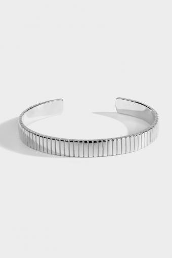 "Siempre Cut Armband ""Silver"""