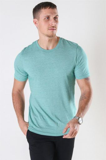 The Perfect Mel SS O-Neck T-shirt Shady Glade/Bright White