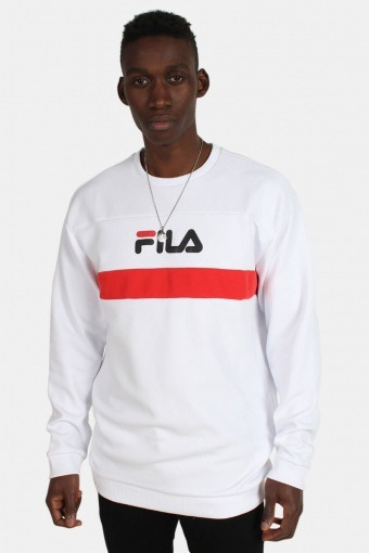 Steven Crew Sweatshirts Bright White