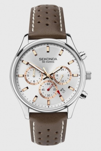 1784 Classic Brown Leather Uhr