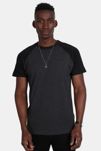 Uhrban Classics Tb639 T-shirt Charcoal/Black