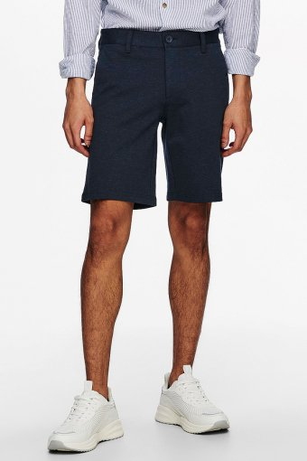 ONSMARK SHORTS MELANGE GW 8669 NOOS Dress Blues