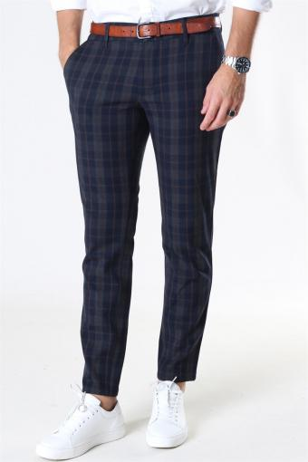 Mark Pants Check DT Dark Navy