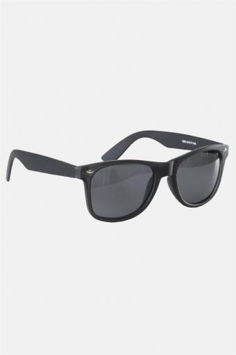 Fashion 1398 Wayfarer Sonnenbrille Black Rubber Grey Lens