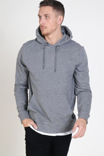 Winston Sweat Hoodie Medium Grey Melange