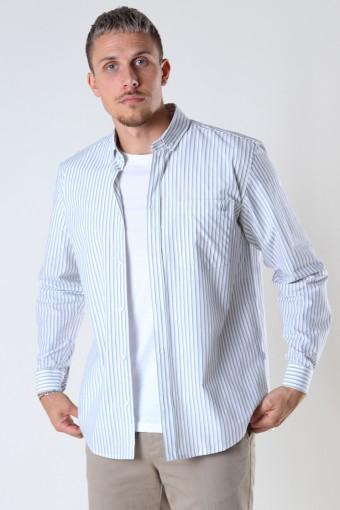 Fling stripe Hemd Light Grey
