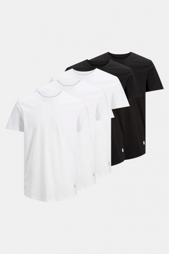 Enoa 5-Pack T-shirt Black/3White