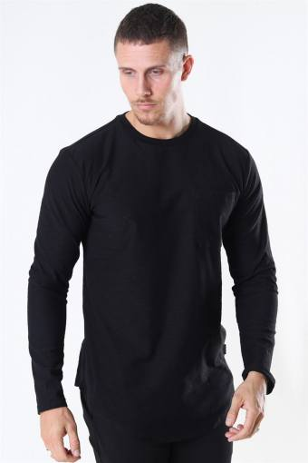 Elgin Life Longy LS T-shirt Black
