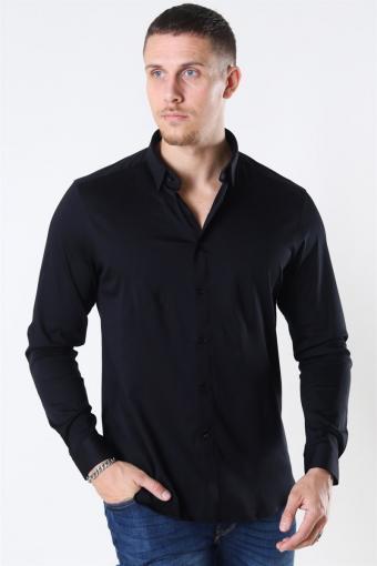 Mos Mosh Marco Jersey Hemd Black