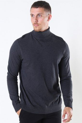Berg Turtleneck Strik Antracit
