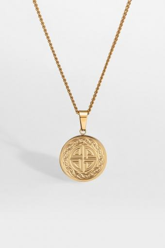 """Knot Halskette """"Gold"""""""