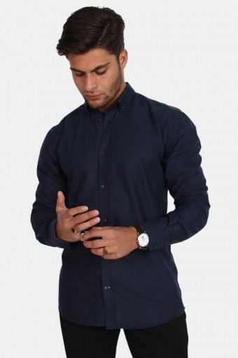 Tailored & Originals New London Hemd Insignia Blue