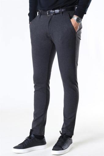 Ponte Romas Plain Pants Dark Grey Melange