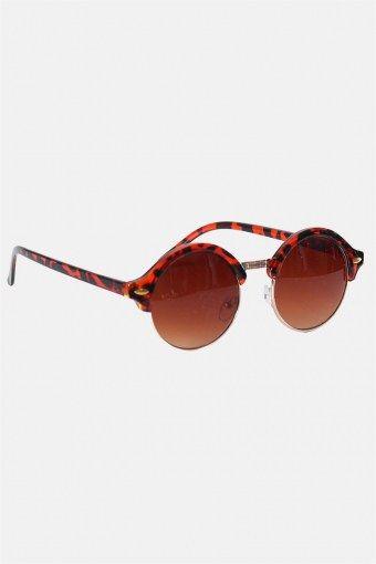 Fashion 1512 Brown Havana/Gold Sonnenbrille Brown Gradient