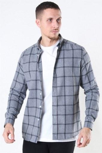Clean Cut Sälen Flannel 1 Hemd Grey
