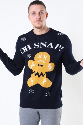 Ugly X-mas Oh Snap Navy